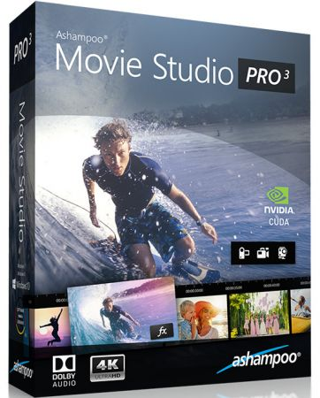 Ashampoo Movie Studio Pro 3.0.3 poster box cover
