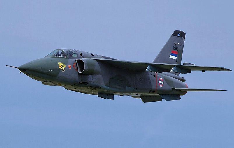 Soko J-22 Orao aircraft