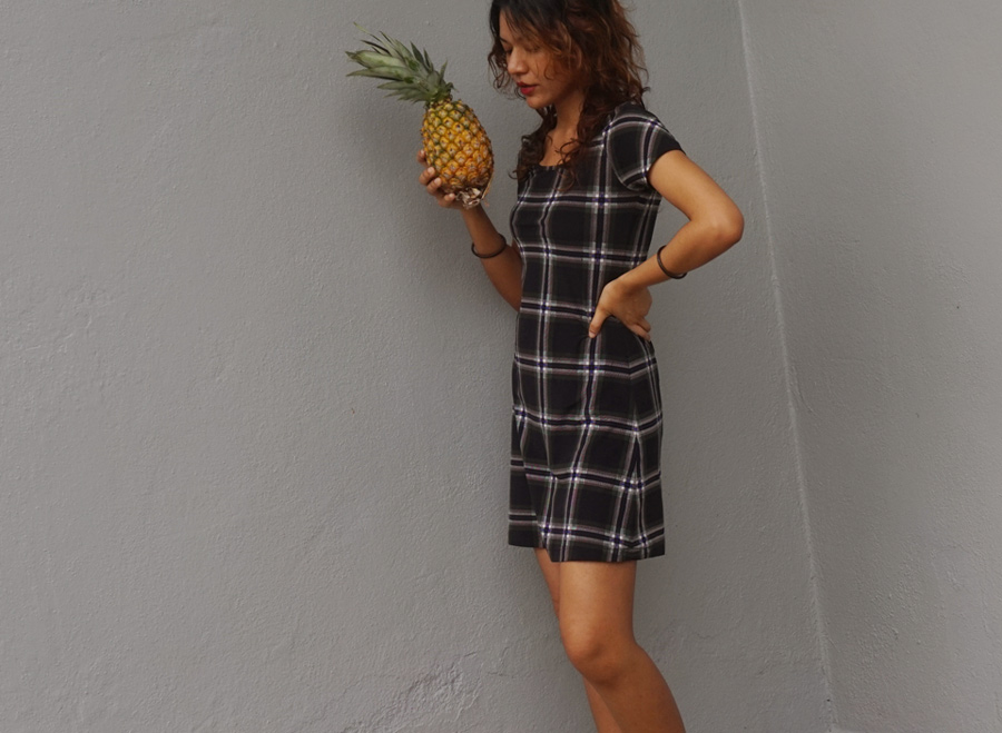 pineapple sniffer outfit of the day / Shanaz AL
