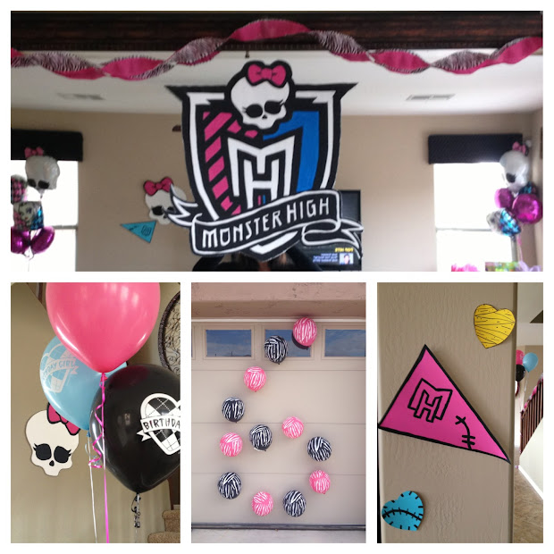 Busy Broad Monster High Party Decorations