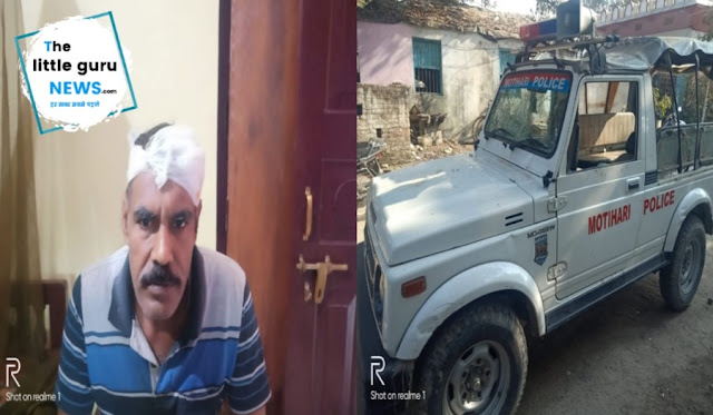 जुआरियों को पकड़ने गई पुलिस टीम पर हमला