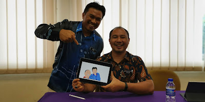 Cikgu Razif dengan perkongsian penghasilan video animasi menggunakan iPad