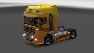 Combo Pack Warrior Liberator for DAF XF