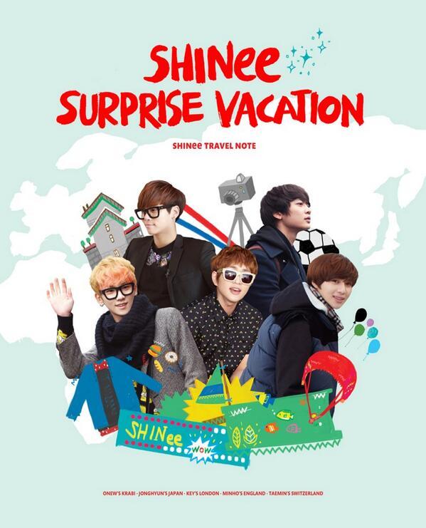 COMING SOON: SHINee Surprise Vacation PHOTOBOOK