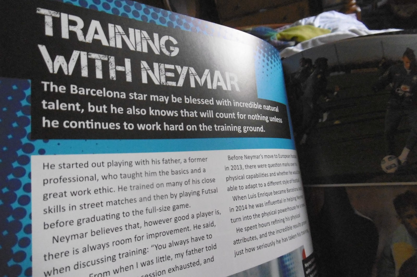 Giveaway 627 win neymar the ultimate fan book closing date 25 it is a hardback annual sized book with glossy paper that makes the vibrant colours of the photos really stand out fandeluxe Choice Image