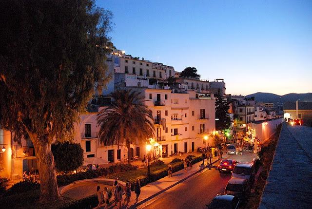 História do Centro Histórico Dalt Vila em Ibiza