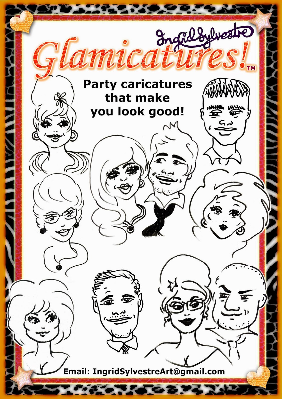 Luxury Wedding Entertainment ideas Wedding Reception Entertainment Wedding Evening Entertainment UK Unique Wedding Entertainment ideas Unusual Wedding ideas High Class Wedding Entertainment Top Quality Wedding Entertainment UK Glamicatures TM Party Caricatures that make you look good Ingrid Sylvestre UK caricature artist