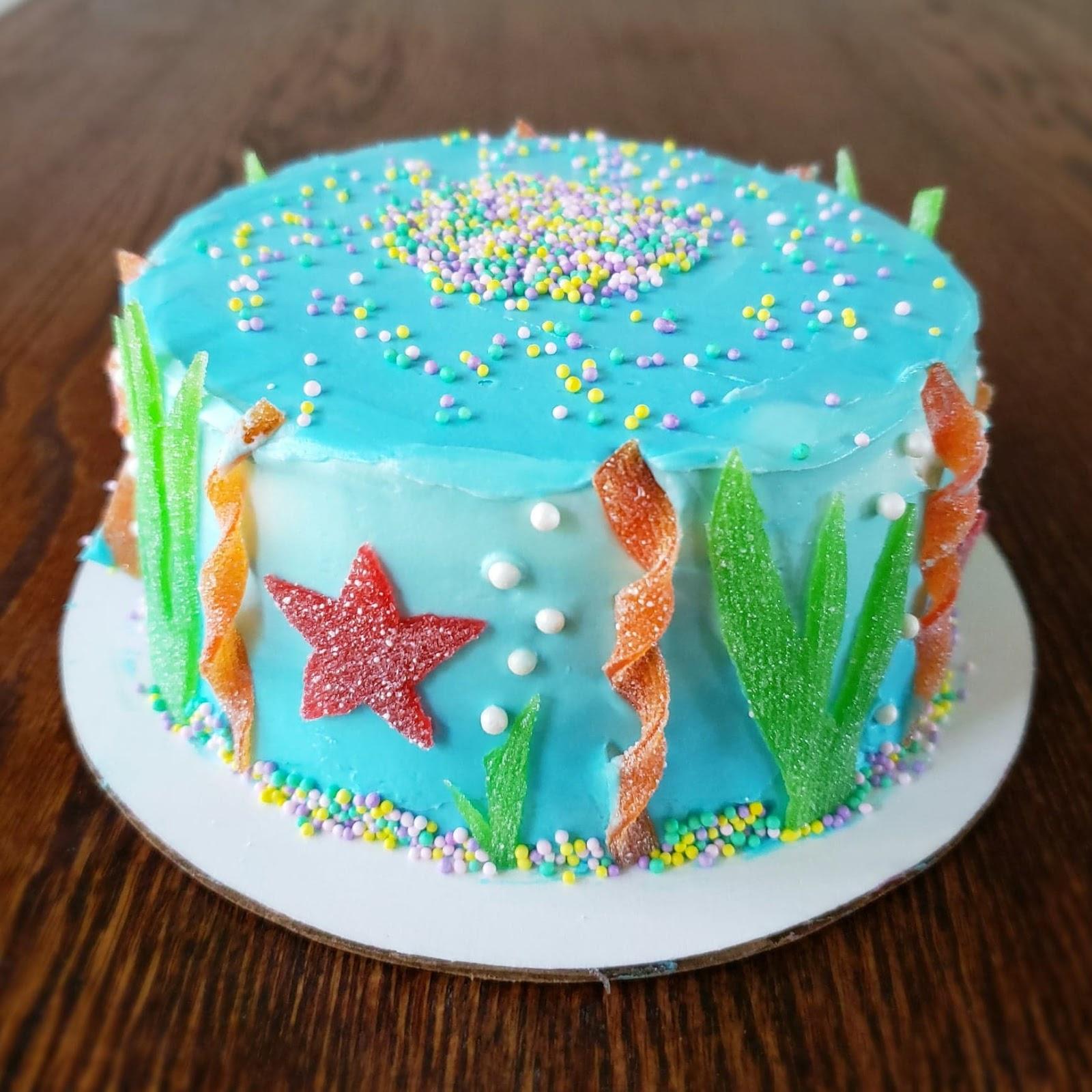 Amazing Once Daily Diy Baby Shark Ocean Themed Cake Funny Birthday Cards Online Hendilapandamsfinfo