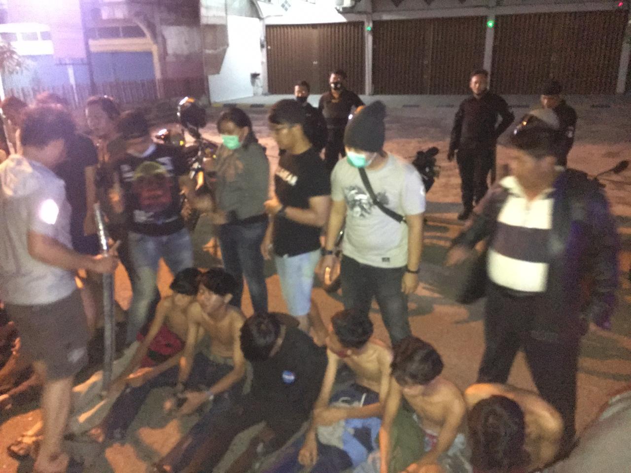 Geng Motor Di Kota Jambi Diringkus Polisi, 9 Orang Masih Pelajar