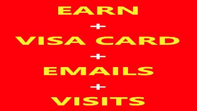 موقع الربح من الأنترنت والحصول على فيزا كارد لتفعيل البايبال وجلب الإميلات والزيارات