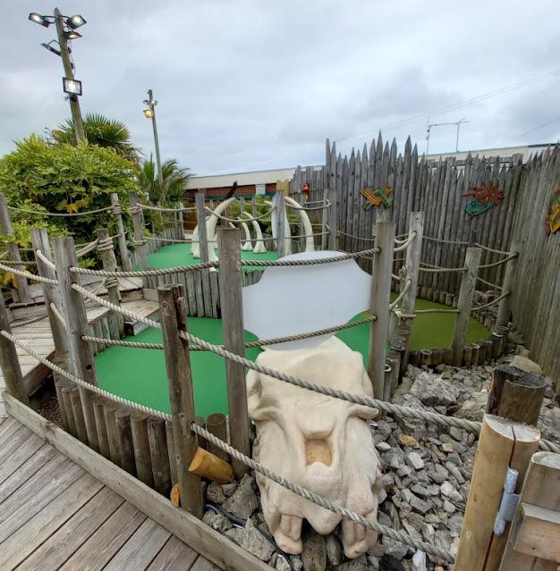 Lost World Adventure Golf in Hemsby, Norfolk