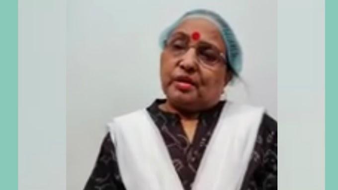 शारदा सिन्हा कोरोना पॉजिटिव, सोशल मीडिया पर जारी केलनि वीडियो