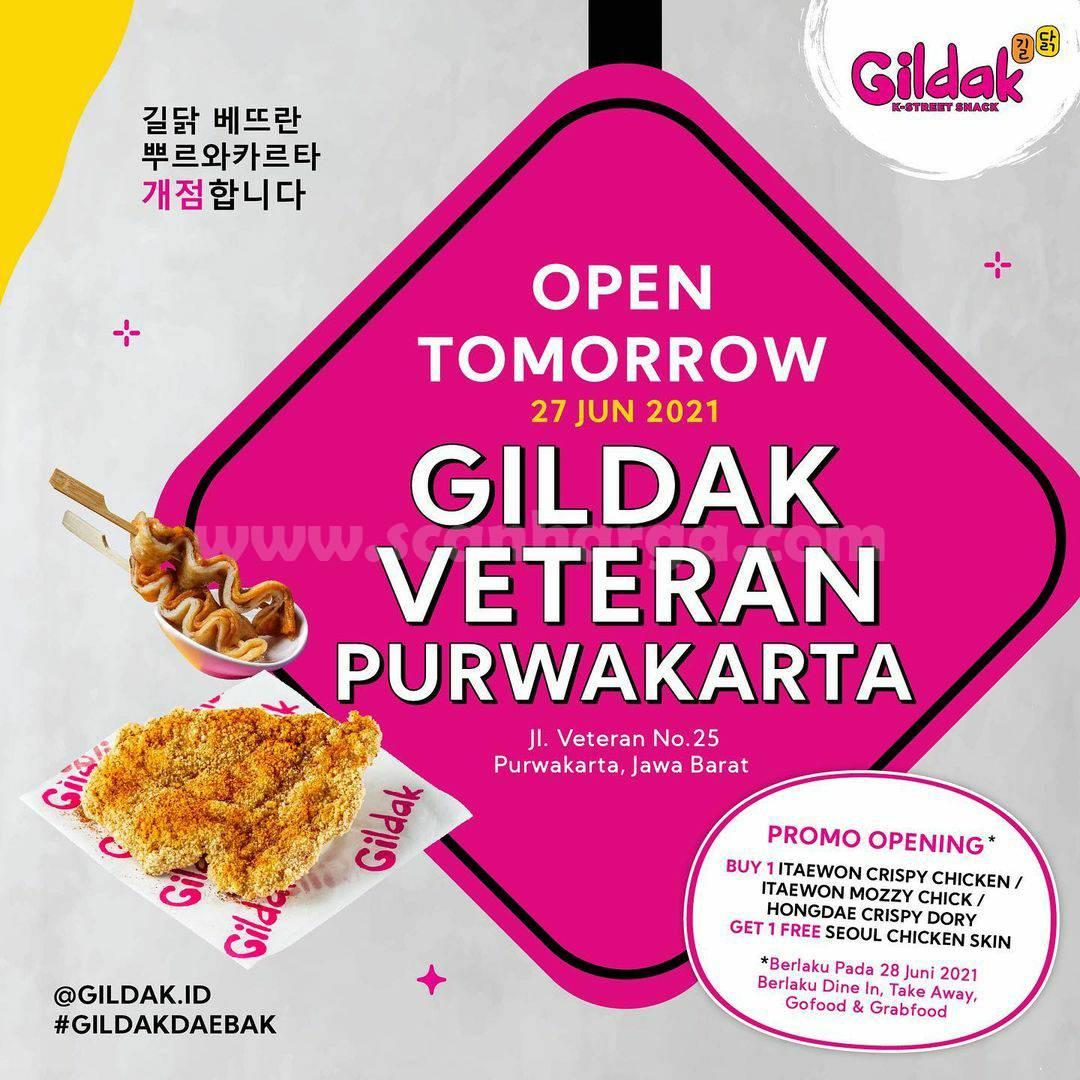 GILDAK Veteran Purwakarta Promo Opening Beli 1 Gratis 1