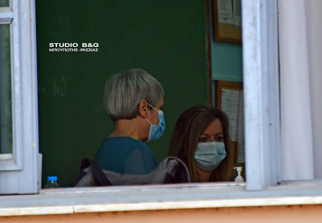 Με μέτρα προστασίας η  «πρεμιέρα» των Πανελλαδικών Εξετάσεων  στο Ναύπλιο