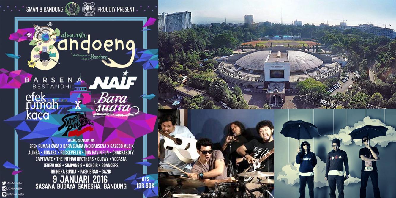 Event Pensi Atma Asta Bandoeng SMAN 8 Bandung