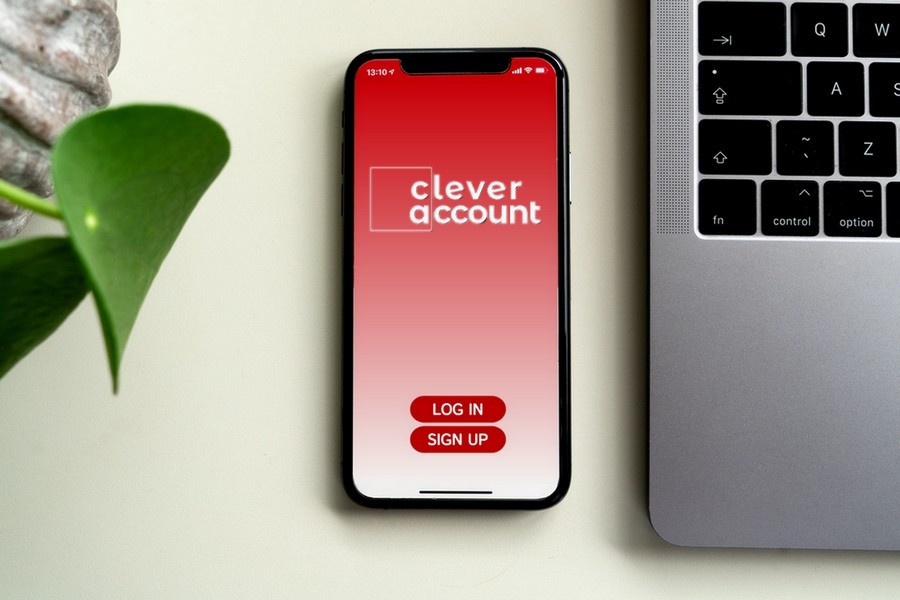 Clever Account Mock Brand App