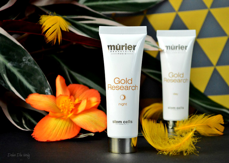 Murier Gold Research - Krem na noc ze złotem koloidalnym i komórkami macierzystymi recenzja