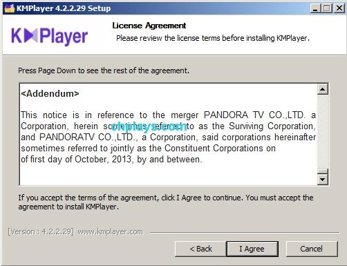 Hướng dẫn cài đặt KMPlayer trên máy tính d