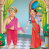 "Tenali Raman and a couple of grain    ""KIDS STORIES.ONLINE"""