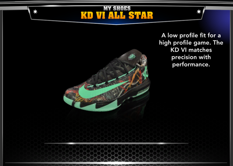 Nike Kevin Durant VI All-Star