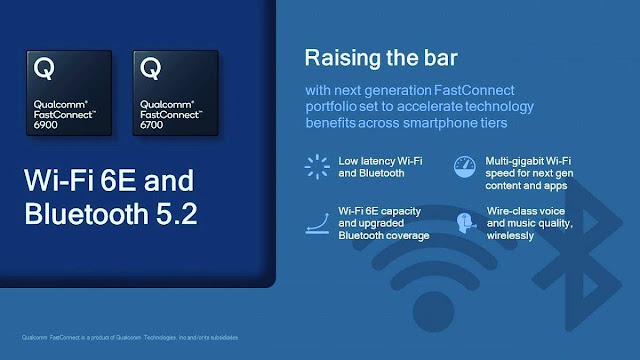 Qualcomm releases FastConnect 6900, 6700 connection system to integrate WiFi 6E and Bluetooth 5.2