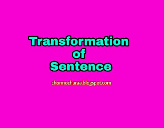 transformation of sentences, Language Skills Abroad