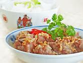 steamed garlic pork ribs