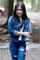 Prilly Latuconsina pemeran Amara di sinetron Amara Sahabat Langit Trans TV