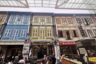 Pagoda Street, Chinatown, Singapur.