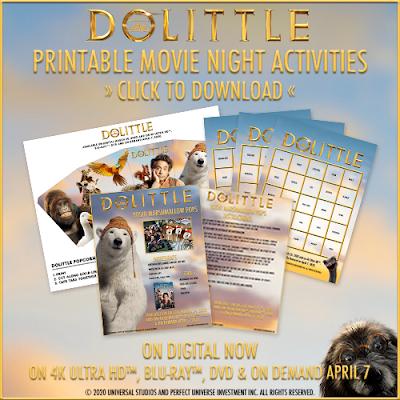 http://bit.ly/DolittleActivitySheets