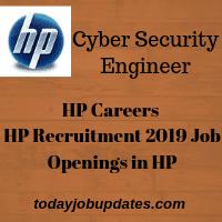 HP Recruitment 2019
