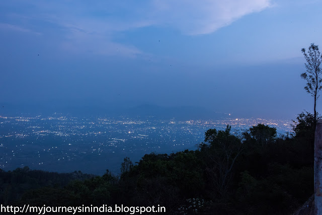 View of Salem from Yercaud