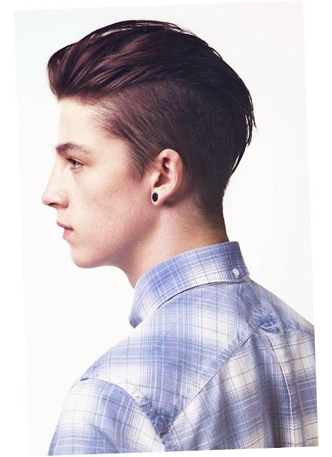 undercut hairstyle men 2015 image