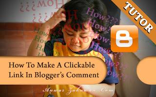 Tinggalkan Responsive Link Di Komen Blogger? Begini Caranya   TUTORIAL
