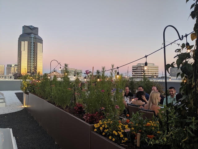 Revival's Rooftop Garden Dinner is October 18