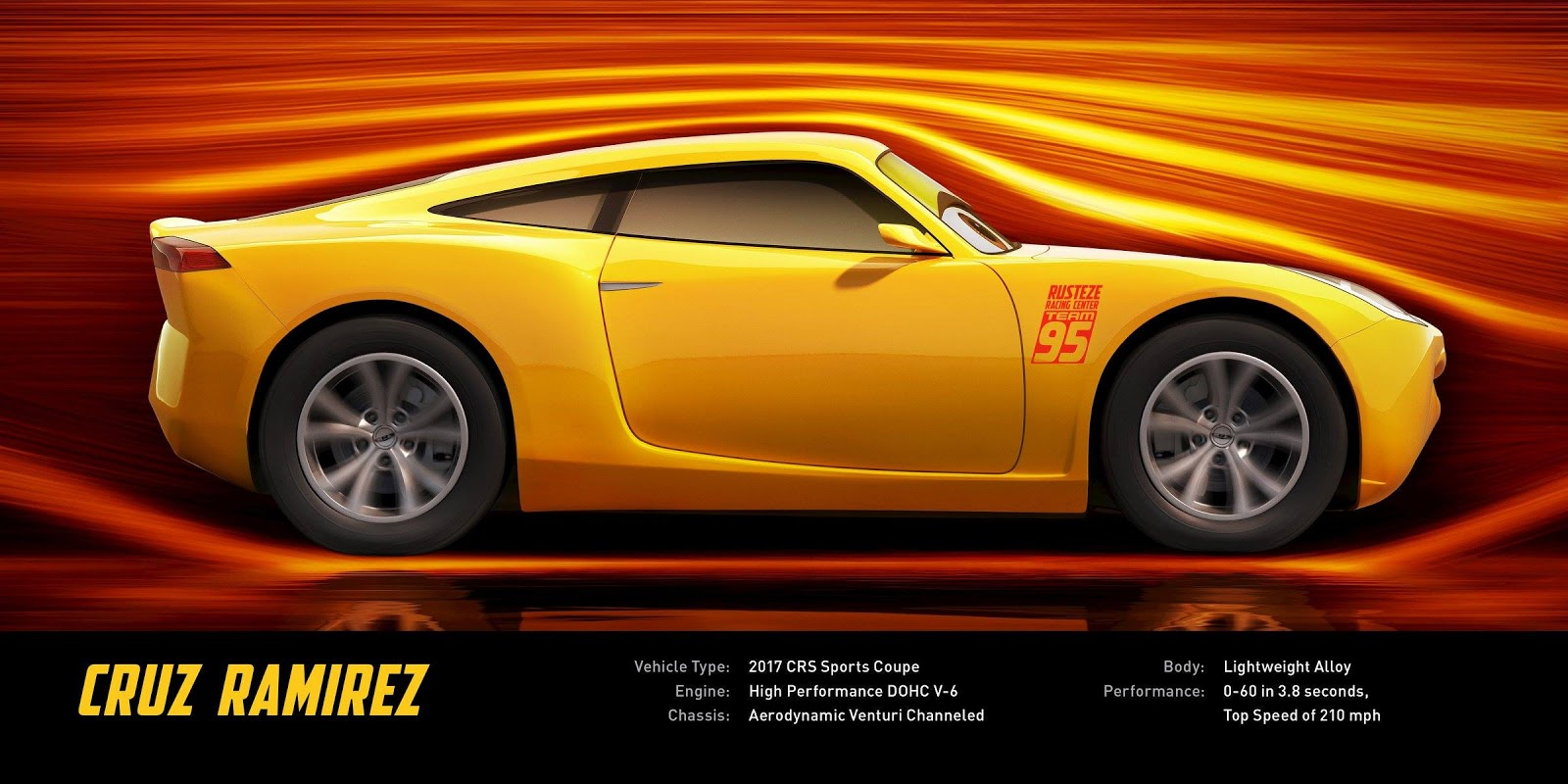 Cars  Cruz Ramirez Dinoco