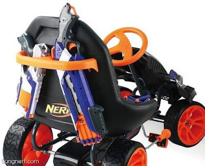 Xe Đồ Chơi Nerf Battle Racer 1