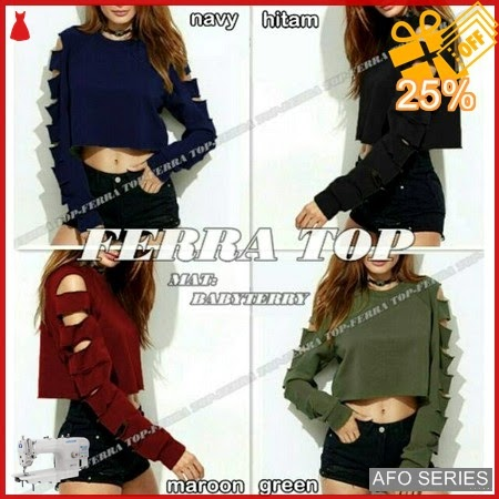 AFO104 Model Fashion Ferra Top Modis Murah BMGShop