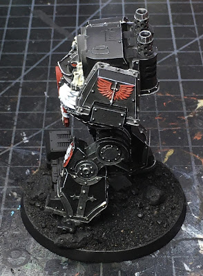 Horus Heresy Dark Angels Contemptor Dreadnought WIP