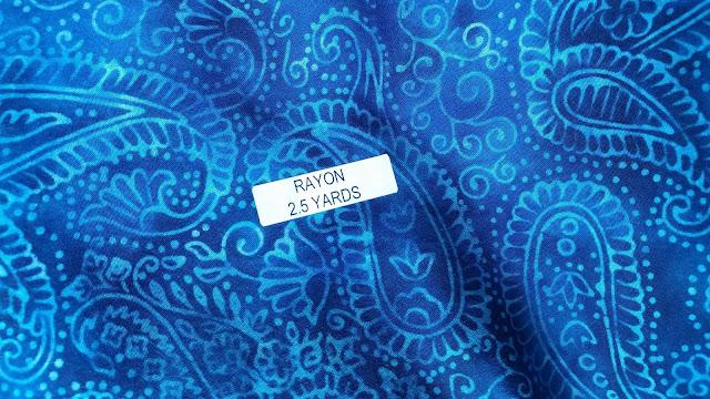 Island Batik rayon fabric