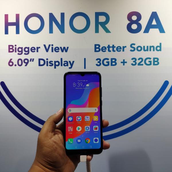 Honor 8A, Pilihan Terbaik Penikmat Musik
