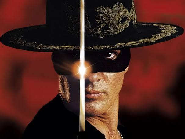 A Máscara do Zorro/ Columbia TriStar Filmes do Brasil/Reprodução