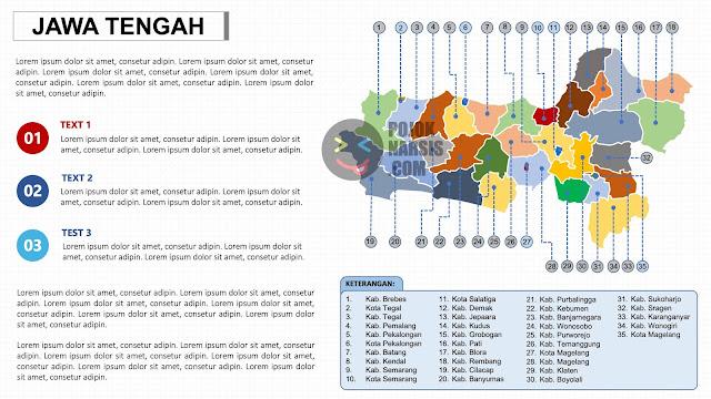 Peta Jawa Tengah PPTX