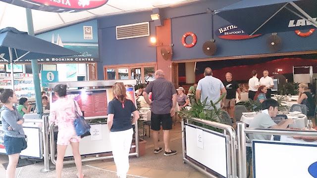 Barnacle Bills, Cairns, seafood, Esplanade