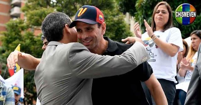 SIN SORPRESA   Capriles y Guaidó se reunirán para el Acuerdo de Salvación Nacional