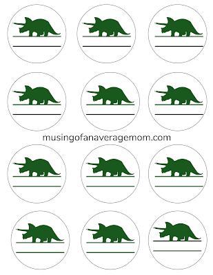 dinosaur school stickers