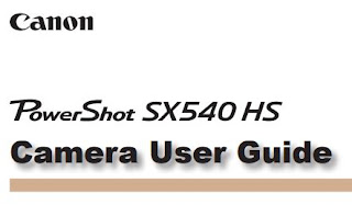 Canon PowerShot SX540 HS PDF User Guide / Manual Downloads
