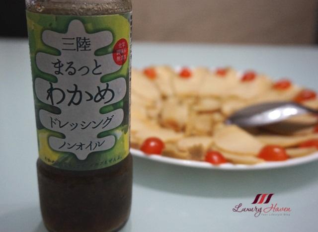 sanriku marutto wakame dressing abalone salad recipe