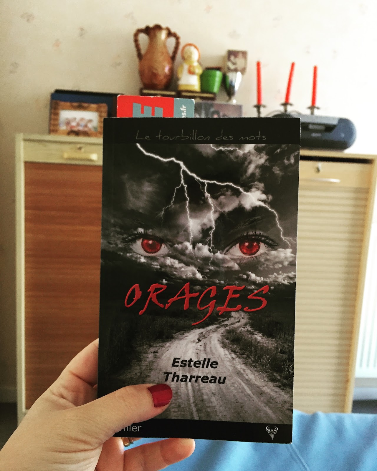 Orages de Estelle Tharreau