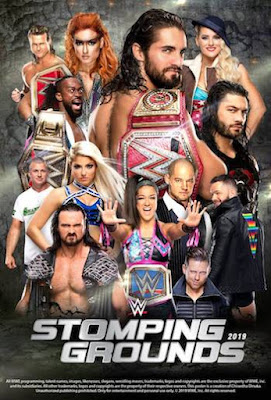 WWE Stomping Grounds 2019 PPV 480p WEBRip  750MB